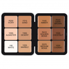Make Up For Ever Modeliavimo-konūravimo paletė  12x3 g - Ultra HD Foundation Palette 12x3 g