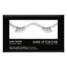 Dirbtinės blakstienos - Lash Show - N-402  Instant Drama False Lashes & False Lashes Glue - Natural Impact