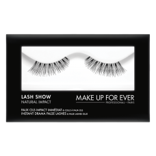 Dirbtinės blakstienos - Lash Show - N-404  Instant Drama False Lashes & False Lashes Glue - Natural Impact